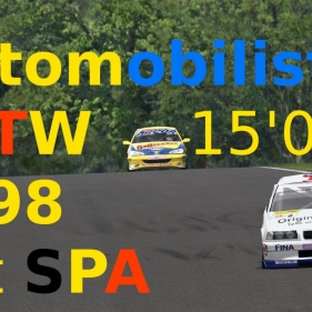 Automobilista // #Remake History# // STW 98 at Spa // Onbard + replay