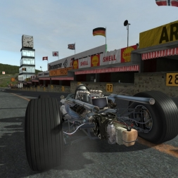 rFactor 2: Sparks F1 at Belgium 1966