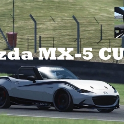 Assetto Corsa | Mazda MX-5 Cup @ Brands Hatch Long | AI Race