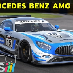 Project Cars - Mercedes Benz AMG GT3 - Les Circuit Bugatti