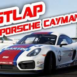 Forza 6 Fastlap - Porsche Cayman GT4 (Stilecht mit H-Schaltung)