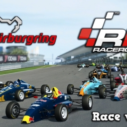 RaceRoom Racing | Singleplayer | Formula RaceRoom Junior @ Nürburgring Short Circuit