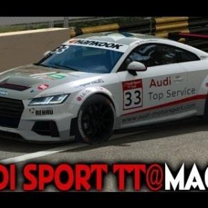Raceroom - Audi Sport TT @ Macau