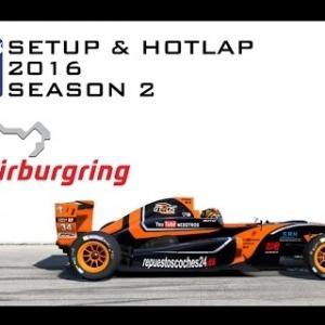 iRacing Formula Renault 2.0 @ Nurburgring | Setup & Hotlap 1'55.761 | Season 2 - 2016