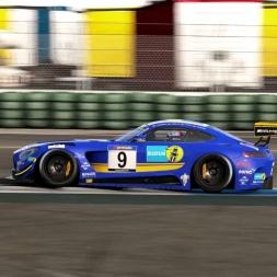 pCARS New Mercedes AMG GT3 Hockenheim GP
