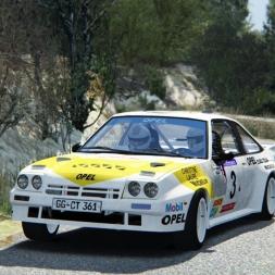 Assetto Corsa: Opel Manta 400 Group B @ Peyregrosse - Mandagout