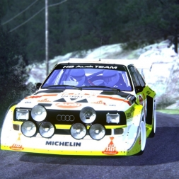 Assetto Corsa: Audi Quattro S1 E2 Group B @ Peyregrosse - Mandagout