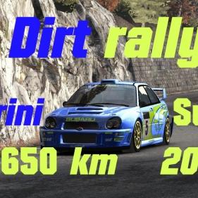 Dirt Rally // Real and full Turini Stage 20.650 km // Subaru Impreza WRC 2001