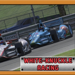 """iRacing: White-Knuckle Racing"" (IndyCar Open Series - Round 6/12 - Barber Motorsports Park)"