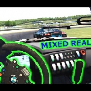 Mixed Reality - Assetto Corsa GT3 Qualify - Oculus Rift DK2