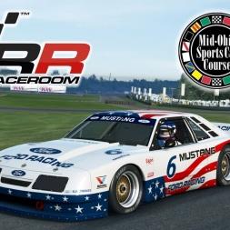 RaceRoom Racing | Ford Mustang IMSA GTO @ Mid-Ohio Sports Car Course