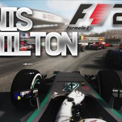 Lewis Hamilton On board POV  Chinese GP 2016