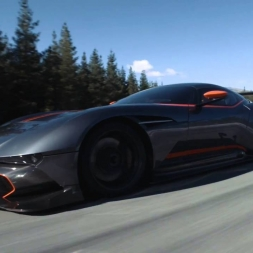 Aston Martin Vulcan @ Highlands Motorsport Park, Cromwell, NZ