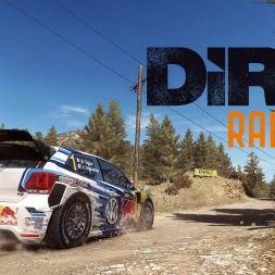 DiRT Rally - Tsiristra Thea - Volkswagen Polo R WRC - WR 05:30.503