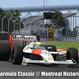 Formula Classic @ Montreal Historic - Automobilista 60FPS