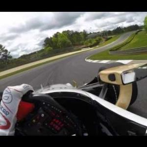 Visor Cam: Josef Newgarden At Barber Motorsports Park