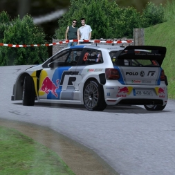 rFactor | Volkswagen Polo R WRC | Stage II | Rally Slovenia