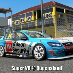 Super V8 @ Queensland - Automobilista 60FPS