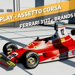 Assetto Corsa - Ferrari 312T (Niki Lauda) - Brands Hatch Indy