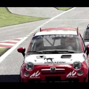 Core-Racing.co.uk Trofeo Abarth 500 Race 11+12 Final Race Edit