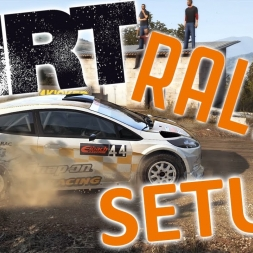 Dirt Rally Top 150 with Controller - Ford Fiesta - Gameplay - Setup Sunday