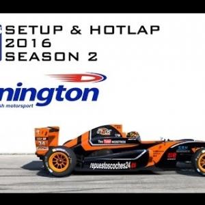 iRacing Formula Renault 2.0 @ Donington | Setup & Hotlap 1'25.752 | Season 2 - 2016