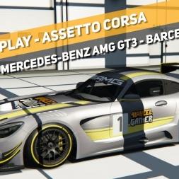 Assetto Corsa - Mercedes Benz AMG GT3 - Barcelona Moto