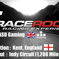 RaceRoom | Kent, England - Brands Hatch (Indy Layout) | Honda Civic WTTC 2014 @ 4K