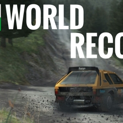 DiRT Rally - World Record - Fferm Wynt Reverse - Group B - Lancia Delta S4  - Xbox One