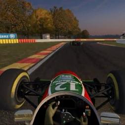 Automobilista: F-V12 / F1 1993 Johnny Herbert Lotus @ Spa-Francorchamps - Belgium GP TV Broadcast