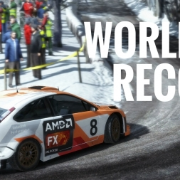 DiRT Rally - World Record - Approcher Du Col De Turini - Ford Focus RS '07 - Xbox One