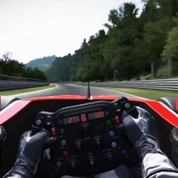 Project CARS Formula A lap at Nordschleife ~5:37 - T500RS