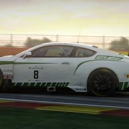 RaceRoom - Bentley Continental GT3 @ Spa