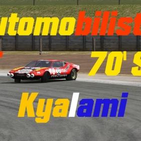Automobilista // Historic GT Mod // Ferrari 365 Daytona + De Tomaso PanteraAlpine A310
