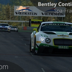 RaceRoom Bentley Continental GT3 Onboard Spa-Francorchamps