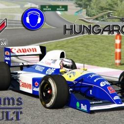 Assetto Corsa * Williams FW14 * Hungaroring ´88 TV cam [download]