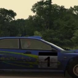 Richard Burns Rally: Rally School - Subaru Impreza 03 - Cone Massacre