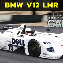 Project Cars  - BMW V12 LMR at Laguna Seca