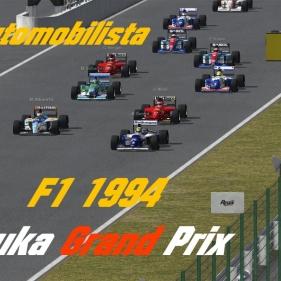Automobilista // #Remake History#  // Suzuka F1 1994