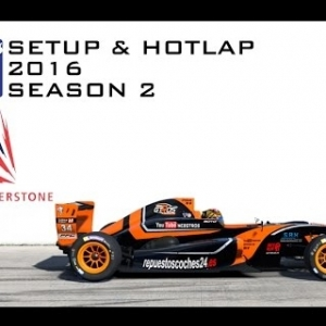 iRacing Formula Renault 2.0 @ Silverstone | Setup & Hotlap 1'37.294 | Season 2 - 2016