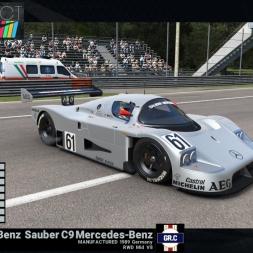 Project CARS: Mercedes-Benz Sauber C9 @Monza GP - preview & test lap