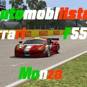 Automobilista // GTE Ferrari F558 // Monza