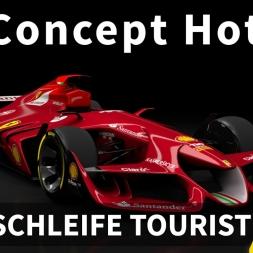 Ferrari F1 Concept Car - Hotlap Challenge at Nordschleife | Assetto Corsa [Oculus Rift DK2 + T300RS]