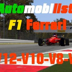 Automobilista // F1 Ferrari from V12 to V6 // Monza