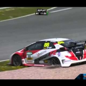 ADAC TCR Germany Sachsenring 2016 HIGHLIGHTS | Crashes And Fails [HD]