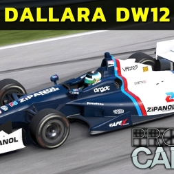 Project Cars - Dallara DW12 at Watkins Glen