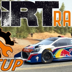 DiRT Rally Top 120 w/ Controller - Pikes Peak - Peugeot 208 T16 - Mods - Setup Sunday