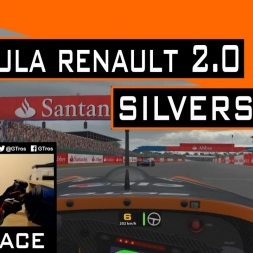 iRacing Race Formula Renault 2.0 @ Silverstone   @Gaston_Flores #GastonCometeUnMohon