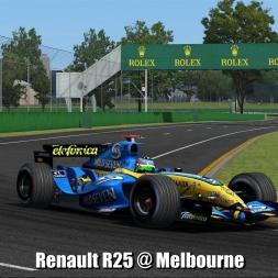 Renault R25 (F1 2005) @ Melbourne - Automobilista 60FPS