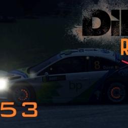 DiRT Rally Gameplay: Misjudged Braking - Episode 53